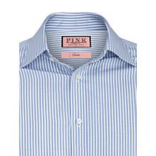 Buy Thomas Pink XL Sleeves Ian Stripe Shirt, Blue Online at johnlewis.com
