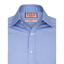 Buy Thomas Pink Alannis Stripe Shirt, Blue/Navy Online at johnlewis.com