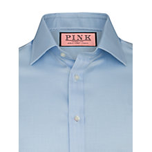 Buy Thomas Pink XL Sleeves Bryant Royal Twill Shirt, Pale Blue Online at johnlewis.com