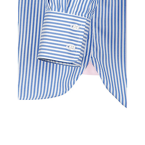 Buy Thomas Pink XL Sleeves Brookland Shirt, Blue Online at johnlewis.com