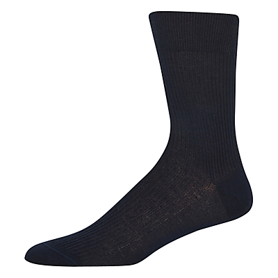 Thomas Pink Classic Cotton Socks, Black
