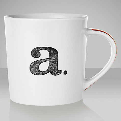 Buy John Lewis Alphabet Mugs Online at johnlewis.com