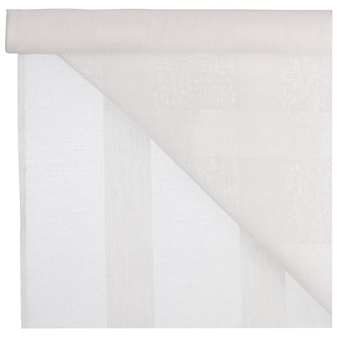 Buy Eiger Voile Fabric, Oyster Online at johnlewis.com