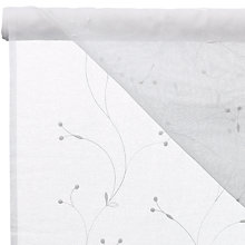 Buy John Lewis Juniper Voile Fabric, White Online at johnlewis.com