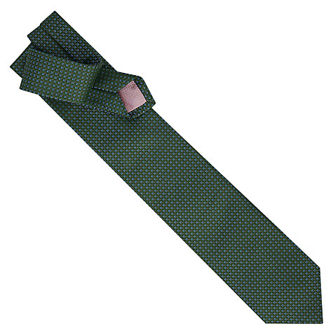 Buy Thomas Pink Gordan Neat Woven Silk Tie Online at johnlewis.com