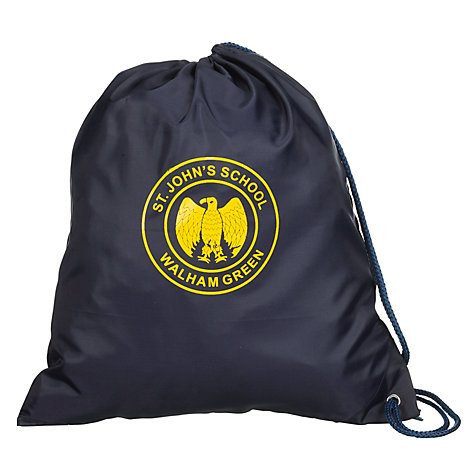 Buy St John's Walham Green CE Primary School PE Bag Online at johnlewis.com