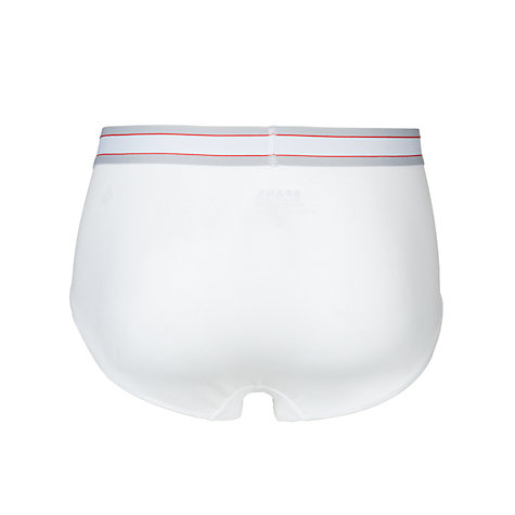 Buy Spanx Comfort Boxer Briefs, White Online at johnlewis.com