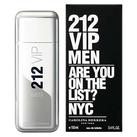 Buy Carolina Herrera 212 VIP Men's Eau de Toilette Online at johnlewis.com