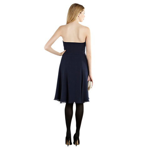 Buy Coast Symphony Short Dress, Navy Online at johnlewis.com