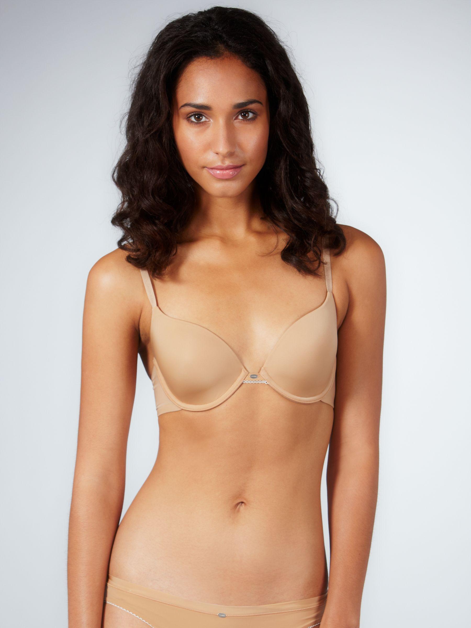 Calvin Klein Naked Glamour T-Shirt Bra, Nude