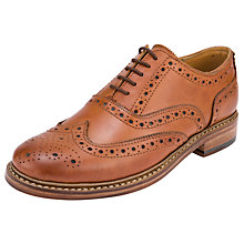 Buy John Lewis Gloucester Storm Leather Brogue Shoes Online at johnlewis.com