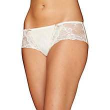 Buy Elle Macpherson Intimates Artistry Boyleg Shorts, Cream Online at johnlewis.com