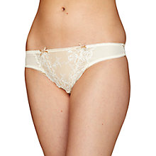 Buy Elle Macpherson Intimates Artistry Thong, Cream Online at johnlewis.com