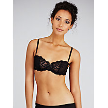 Buy Chantelle Rive Gauche Half Cup Bra Online at johnlewis.com