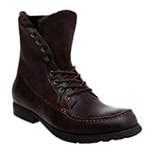 Buy Bertie Collage Leather Lace Up Boots Online at johnlewis.com