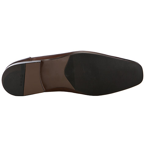 Buy Dune Atilla Leather Slip On Shoes, Tan Online at johnlewis.com