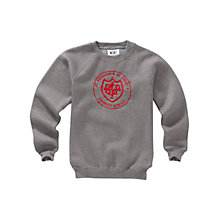 Buy St Barnabas and St Philip's Primary School Unisex Sweatshirt, Grey Online at johnlewis.com