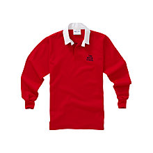 Buy The Roche School Unisex Rugby Jersey, Red Online at johnlewis.com