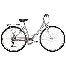 Buy Adventure Prima Women's Bike, Silver Online at johnlewis.com