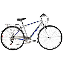 Buy Adventure Prime Men's Bike, Silver Online at johnlewis.com