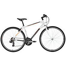 Buy Adventure Stratos Men's Bike, White Online at johnlewis.com