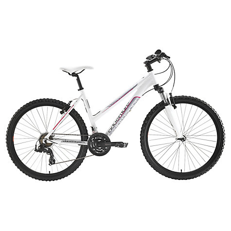 Buy Adventure Trail Women's Mountain Bike, White/Pink Online at johnlewis.com