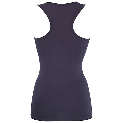 Buy John Lewis Yoga Tank Top, Charcoal Online at johnlewis.com