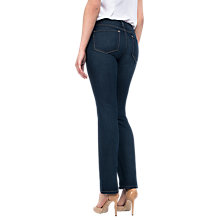 Buy NYDJ Marilyn Straight Leg Jeans, Indigo Online at johnlewis.com