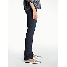 Buy NYDJ Straight Leg Jeans, Indigo Online at johnlewis.com