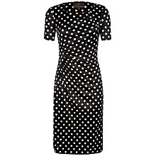 Buy Fenn Wright Manson Pearl Dot Print Dress, Black/Ivory Online at johnlewis.com