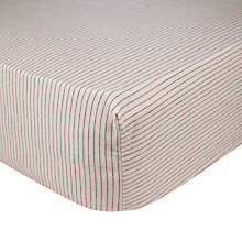 Buy John Lewis Logan Fitted Sheet Online at johnlewis.com
