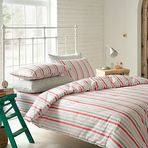 Buy Cath Kidston Bon Bon Stripe Bedding Online at johnlewis.com