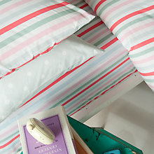 Buy Cath Kidston Bon Bon Stripe Fitted Sheets, Multi Online at johnlewis.com