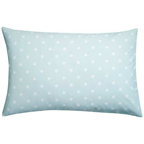 Buy Cath Kidston Large Spot Standard Pillowcase Online at johnlewis.com