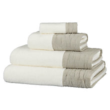 Buy John Lewis White Shop Puritan Linen Towels, White Online at johnlewis.com