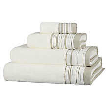 Buy John Lewis White Shop Puritan Pleats Towels Online at johnlewis.com