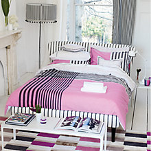 Buy Designers Guild Taru Pillowcase, Pink Online at johnlewis.com