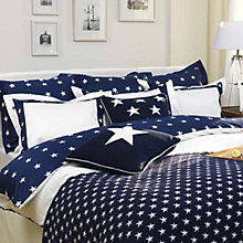 Buy Gant Star Border Duvet Cover, Navy Online at johnlewis.com