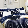 Buy Gant Star Border Kingsize Duvet Cover, Navy Online at johnlewis.com
