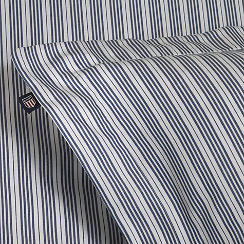 Buy Gant White Stripe Bedding, White Online at johnlewis.com