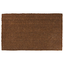 Buy John Lewis Thick Coir Doormat, Natural Online at johnlewis.com
