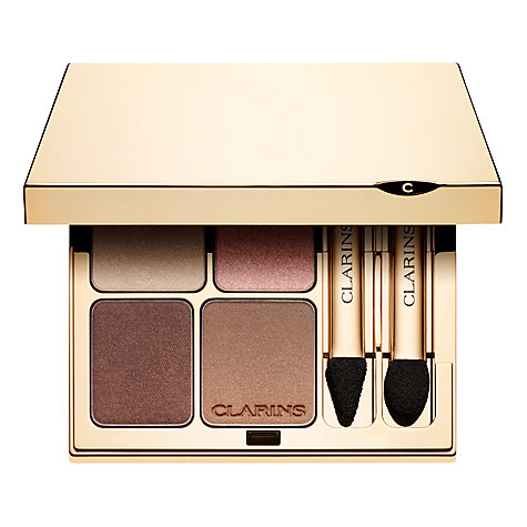 Buy Clarins Eye Quartet Mineral Palette Online at johnlewis.com