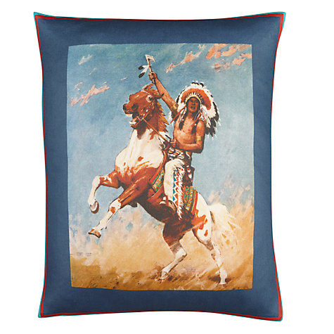 Buy Andrew Martin Indian Cushion, Multi Online at johnlewis.com
