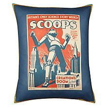 Buy Andrew Martin Scoops Cushion, Multi Online at johnlewis.com