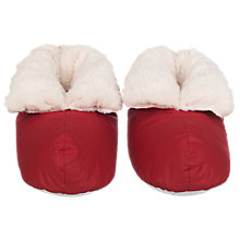 Buy John Lewis Foot Duvets, Red Online at johnlewis.com