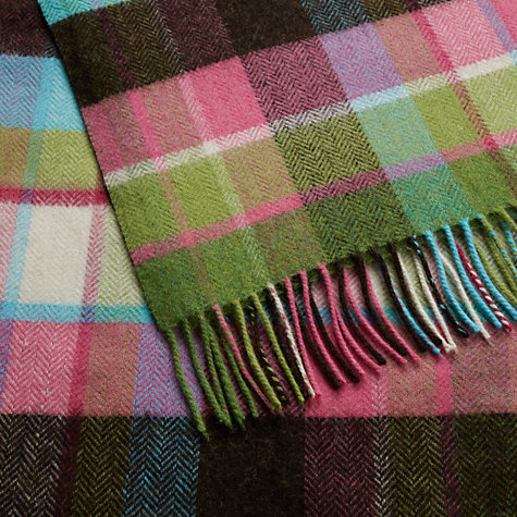 Buy Avoca Pioneer Pure New Wool Throw Online at johnlewis.com