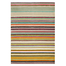 Buy Brink And Campman Fresh Pastel Stripe Rug Online at johnlewis.com