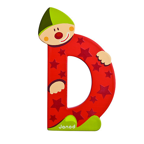 Buy Janod Wooden Letter Online at johnlewis.com