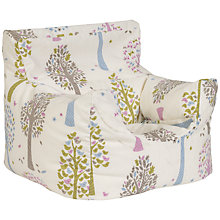 Buy little home at John Lewis Magic Trees Bean Chair, Multi Online at johnlewis.com
