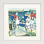Catherine Stephenson- Coastal Town Framed Prints